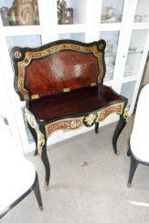 Schildpatt-Tischchen - Frankreich 1840